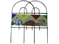 plôtik záhradné 60cmx3m kov / plastový, ZE (7ks)