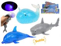 Mořská zvířátka 18 cm s korálky na baterie se světlem v DBX - mix variant či barev