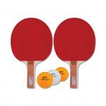 Spokey Standard Set sada na pingpong *, 2 rakety, 3 míčky, rovná rukojeť