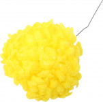 Chryzantéma vosková - žltá sýta