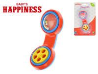 Hrkálka telefón 13 cm Baby's Happiness