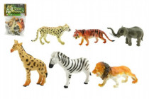 Zvieratká safari 6ks plast 10cm