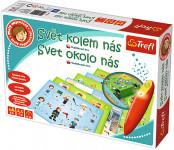 Malý objaviteľ Svet okolo nás + kúzelná ceruzka edukačné spoločenská hra
