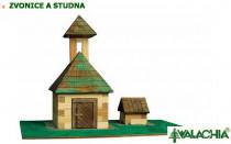 Zvonica a studňa
