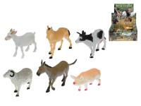 Zvířátka farma plast 8-13cm - mix variant či barev