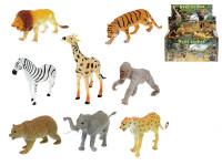 Zvířátka safari/ZOO plast 13-20cm - mix variant či barev