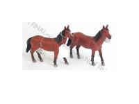 Kůň 23 cm - mix barev