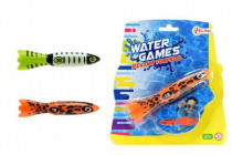 Torpédo na hádzanie do vody 15cm - mix variantov či farieb