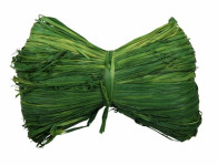 Lýko RAFFIA provaz tmavě zelené 50g