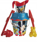 Pieskový set Mickey a Minnie s kanvičkou
