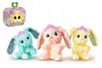 Zvieratko FUR BALLS plyš Touláček králiček s doplnkami - mix variantov či farieb