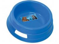miska pre psa 16cm guľatá plastová - mix farieb