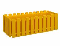 Truhlík Fence plastový žltý 75 cm
