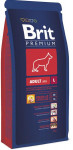 Brit Premium by Nature Dog Adult L 15 + 3 kg zdarma
