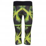 Spokey Triana, fitness 3/4 legíny, zelené, veľ. S