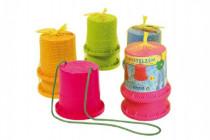 Chůdy plast - mix barev