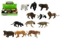 Zvieratko safari ZOO plast 10cm asst - mix variantov či farieb