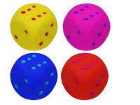 Hopík 4,5 cm hracia kocka - mix farieb