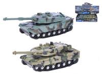 Tank 4x4 18 cm na setrvačník na baterie se světlem a zvukem - mix variant či barev
