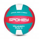Spokey PLAY II Volejbalový míč červeno-zelený vel. 5