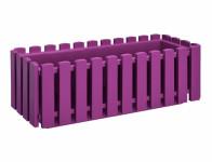 Truhlík Fence plastový fialovo ružový 75cm