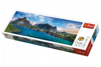 Puzzle Lofoten Archipelago, Nórsko panoráma 500 dielikov 66x23,7cm
