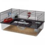 Klec hlod. křeček, myš Favola s výbavou Ferplast 60 x 36,5 x 30 cm