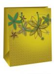 Dárková taška DC - khaki květy - VÝPREDAJ