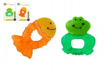 Kousátko chladící zvířátko plast 10cm - mix variant či barev