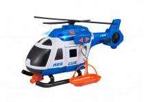 Teamsterz policajný helikoptéra so zvukom a svetlom