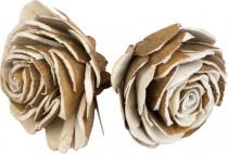 Dekorácie - Sola Chips Beauti Rose 6 cm - 2 ks