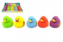 Plavací kačenka gumová 7,5cm 18m+ - mix barev