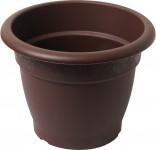 Plastia obal Muškát - čokoládový 21 cm