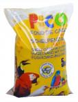 Písek hygien. pro ptáky s anýzem, hnědý+mušle Duvo 5 kg