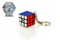 Rubikova kocka hlavolam prívesok plast