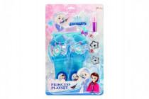 Sada krásy princezna střevíčky+brýle s doplňky plast na kartě 21,5x34,5cm