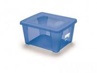 box úložný SCATOLA 2l, 19x16x10cm s vekom plastový, MO