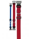 Obojok nylon CLUB C 44cmx15mm červený FP 1ks