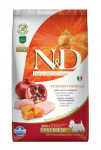 N & D Grain Free Adult Mini Pumpkin Chick & Pomergranate 2,5 kg