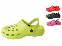 papuče gumové dámske veľ. 38 (pár) - mix farieb