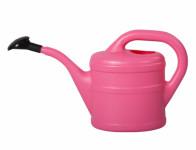 Konvička s růžicí plastová růžová 2l