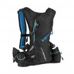 Spokey SPRINTER Športové, cyklistický a bežecký ruksak 5 l, modro / čierny, vodeodolný - VÝPREDAJ
