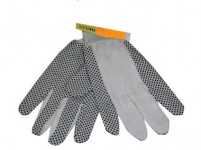 rukavice OSPREY bavlna / PVC terčíkmi