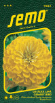 Semo Cínia pôvabná - Canary bird (žltá) 0,7g
