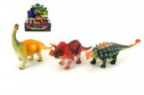 Dinosaurus plast 18cm - mix variant či barev