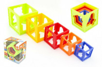 Kubus pyramída skladačka hranatá plast 12m +
