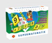 Supermatematik spoločenská hra náučná v krabici 29x19cm