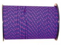 šnúra PES s dušou 5mm farebná pletená (100m)