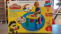 Play-Doh Hasbro stoleček + modelína + pastelky