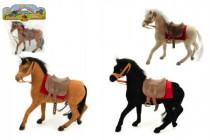 Kôň flíska 20cm - mix farieb